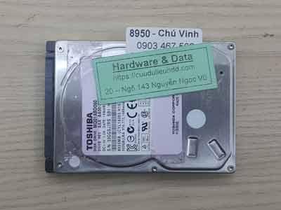 8950 Toshiba 500GB