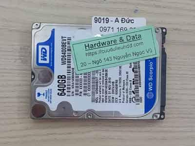 9019 Western 640GB