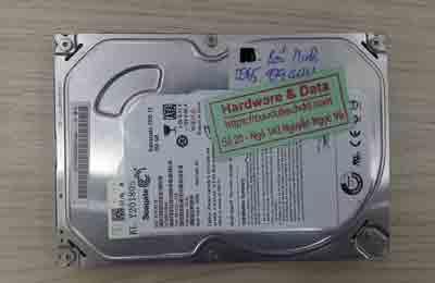 khôi phục dữ liệu ổ cứng Seagate 250GB chết cơ