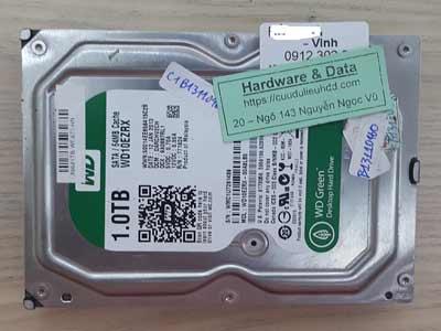 Lấy lại dữ liệu ổ cứng Western 1TB đầu đọc lỗi
