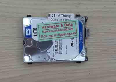 khôi phục dữ liệu ổ cứng Samsung Western 1TB hỏng đầu đọc