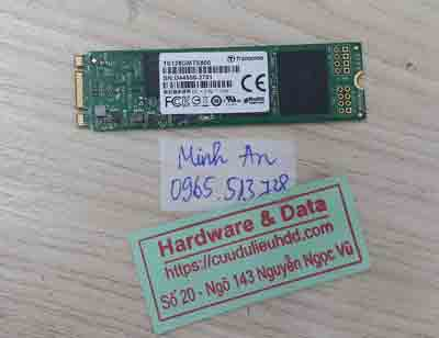 lấy lại dữ liệu SSD Trancend 128GB lỗi ngăn nhớ