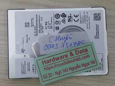 Lấy dữ liệu ổ cứng Seagate 1TB lỗi đầu đọc