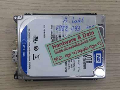 Cứu dữ liệu ổ cứng Western 2TB chết cơ