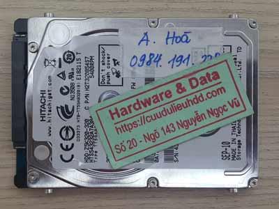 Phục hồi dữ liệu ổ cứng  Hitachi 320GB  bị chết cơ