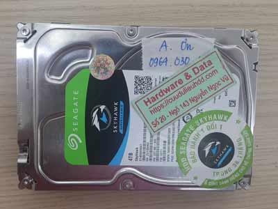 Khôi phục dữ liệu ổ cứng camera Seagate 4TB