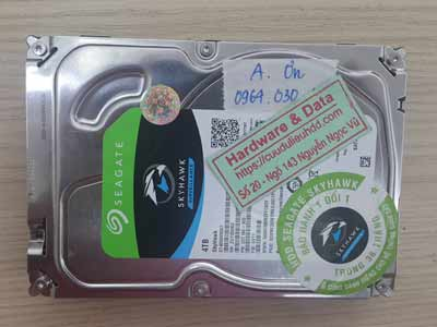 khôi phục dữ liệu camera Seagate 4TB