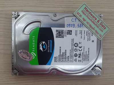 khôi phục dữ liệu ổ cứng Seagate 500GB đầu đọc kém