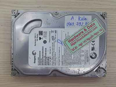phục hồi dữ liệu ổ cứng Seagate 160GB đầu đọc lỗi