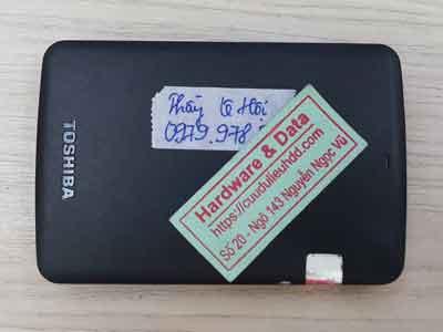 Cứu dữ liệu box Toshiba 500GB mất dữ liệu