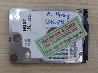 lấy lại dữ liệu Hitachi lỗi cơ