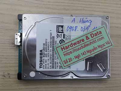 khôi phục dữ liệu ổ cứng toshiba 1tb đầu từ lỗi