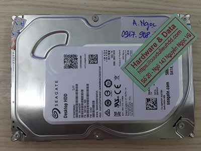 lấy lại dữ liệu ổ cứng Seagate 500GB đầu từ lỗi
