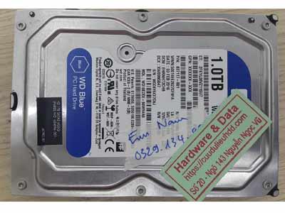 lấy dữ liệu ổ cứng Western 1TB mất định dạng