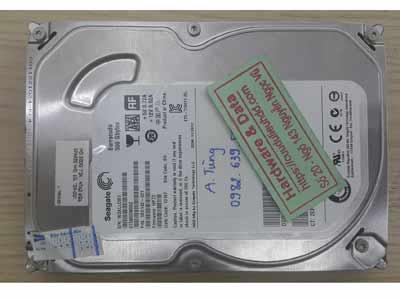 Cứu dữ liệu ổ cứng seagate 500GB lỗi đầu đọc