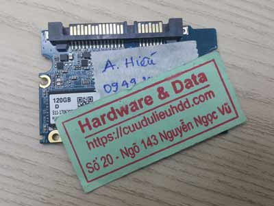lấy lại dữ liệu ổ cứng western 500GB lỗi chip