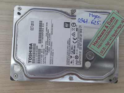 Cứu dữ liệu ổ toshiba 500GB chết cơ