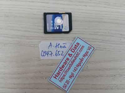 khôi phục dữ liệu thẻ nhớ 8GB mất dữ liệu