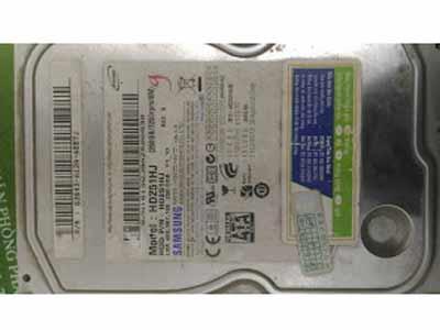 Cứu dữ liệu ổ cứng Samsung 250GB đầu từ lỗi