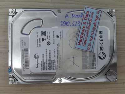 cứu dữ liệu ổ cứng Seagate 320GB chết cơ