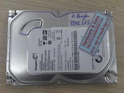 khôi phục dữ liệu Seagate 500GB mất dữ liệu
