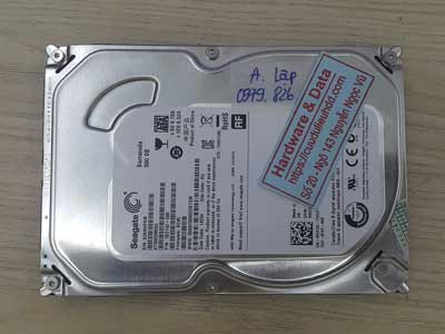 Khôi phục dữ liệu ổ cứng Seagate 500GB hỏng đầu từ