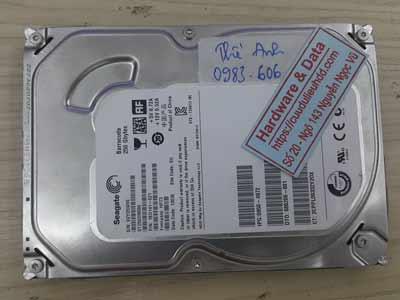 Phục hồi dữ liệu ổ cứng Seagate 160GB lỗi cơ