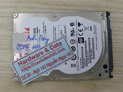 phục hồi dữ liệu Seagate 500GB hỏng cơ