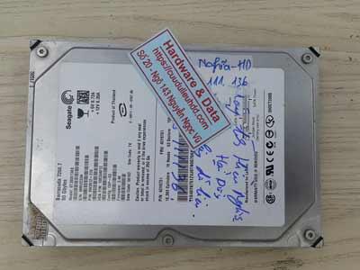 phục hồi dữ liệu Seagate 80GB lỗi cơ