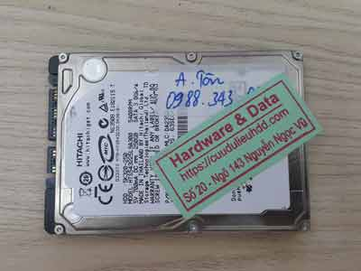 lấy lại dữ liệu ổ cứng Hitachi 250GB chết cơ