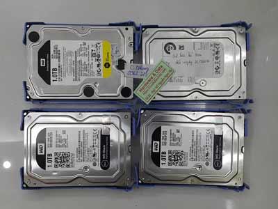 Khôi phục dữ liệu msy chủ Raid0 4 ổ cứng
