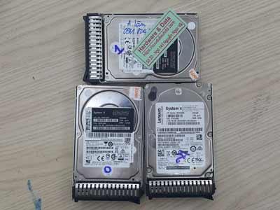 phục hồi dữ liệu máy chủ Sas 300GB lỗi ổ cứng