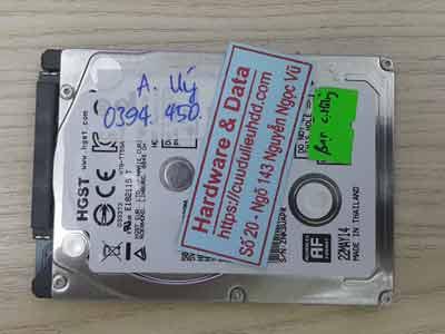 Cứu dữ liệu ổ cứng Hitachi 500GB đầu đọc lỗi