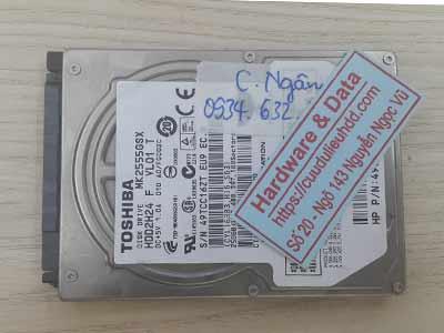Khôi phục dữ liệu ổ cứng Toshiba 250GB chết cơ