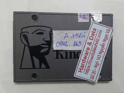 phục hồi dữ liệu ổ cứng SSD Kinsgton 480GB lỗi chip