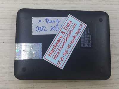 Khôi phục dữ liệu ổ cứng box Western 500GB mất dữ liệu