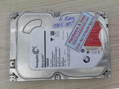 Khôi phục dữ liệu ổ cứng Seagate 1TB đầu đọc lỗi
