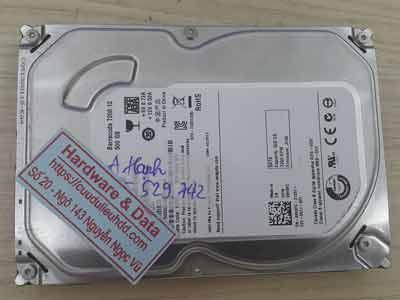 Cứu dữ liệu Seagate 500GB chết cơ
