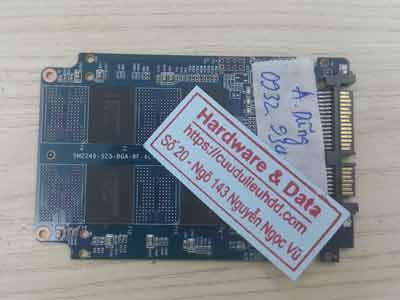 phục hồi dữ liệu ổ cứng SSD kingsmax 120GB lỗi chip