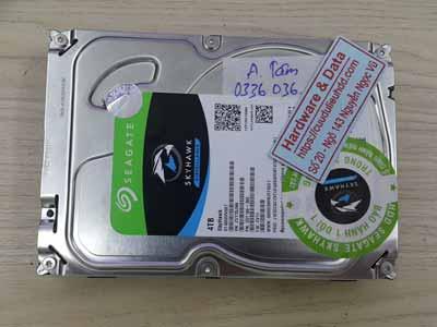 Lấy lại dữ liệu ổ cứng Seagate 4TB virus mã hóa