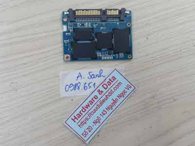 Cứu dữ liệu ổ cứng SSD Sandisk 256GB hỏng