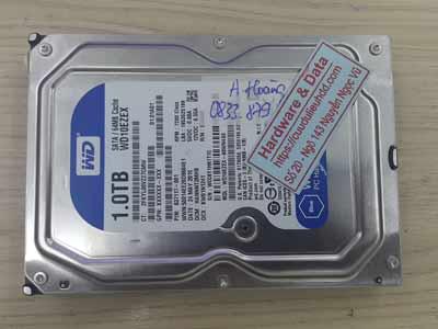 Cứu dữ liệu ổ cứng western 1TB mất dữ liệu