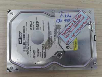 Cứu dữ liệu ổ cứng Western 160GB chết cơ