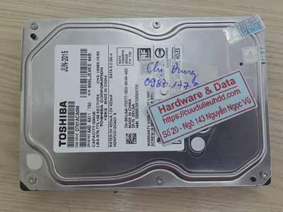 lấy lại dữ liệu ổ cứng toshiba 500GB đầu từ lỗi
