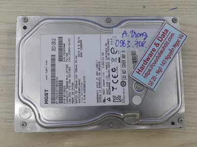Phục hồi dữ liệu Hitachi 500GB hỏng đầu đọc