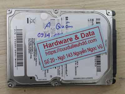 Khôi phục dữ liệu ổ cứng Samsung 1TB lỗi đầu từ