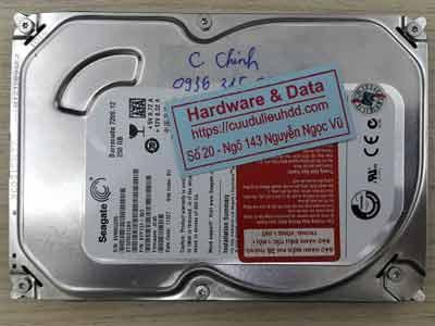 Phục hồi dữ liệu Seagate 250GB virus mã hóa