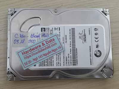 phục hồi dữ liệu ổ cứng Seagate 500GB chết cơ