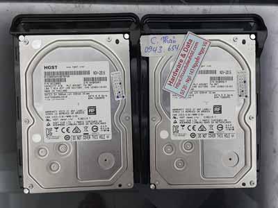 Cứu dữ liệu Raid0 Hitachi 4TB mất cấu hình, virus mã hóa