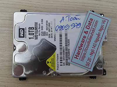 Phục hồi dữ liệu Western 1TB pass ổ cứng